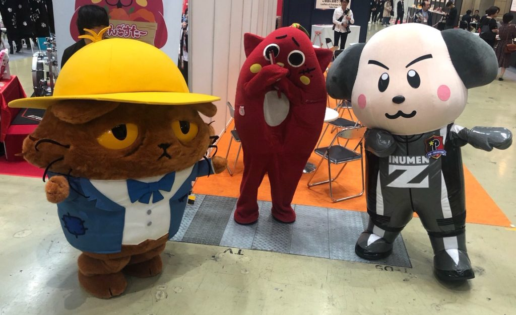 0c7e01c7ad6 A couple of weeks ago I went to a big expo in Tokyo called Licensing Japan